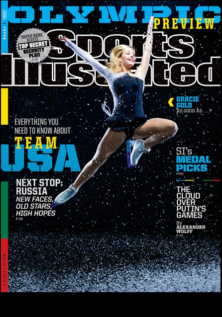 February 3, 2014 Sports Illustrated Cover