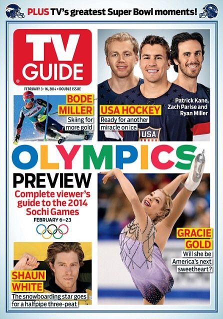 February 2, 2014 TV Guide Cover